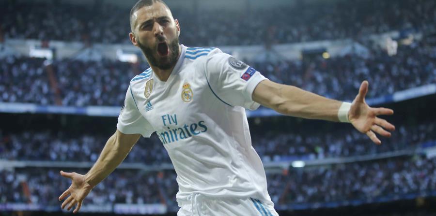 Karim Benzema, delantero del onceno francés, recién celebró el título 13 del Real Madrid en la Liga de Campeones. (horizontal-x3)
