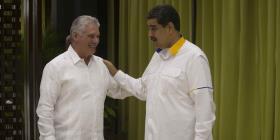 Juntos en La Habana Maduro, Ortega y Díaz-Canel
