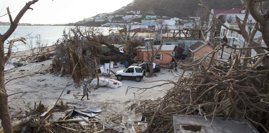 Imagen de los daños causados por Irma en San Martín. (horizontal-x3)