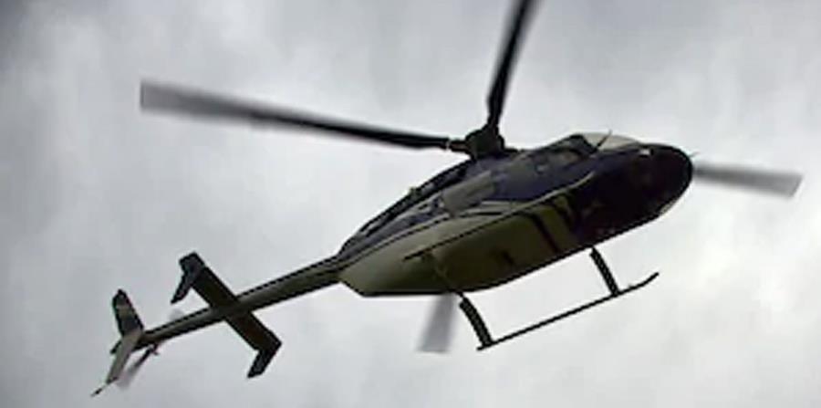 Aseguran que el helicóptero regresaba a La Romana (horizontal-x3)