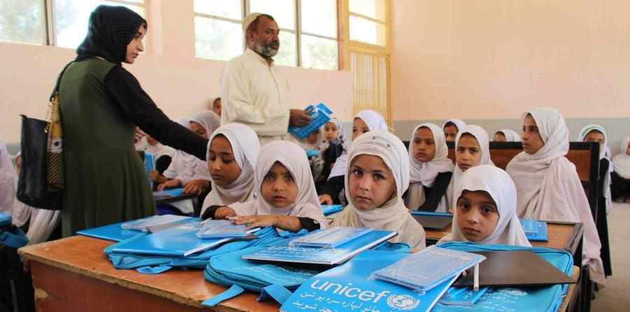 UNICEF conmemora el Día Internacional de la Niña (EFE). (horizontal-x3)