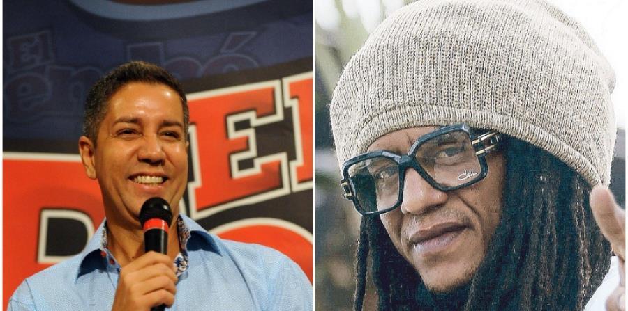 Frankie Jay y Tego Calderón se encontraron en un restaurante de Hato Rey. (GFR Media) (horizontal-x3)