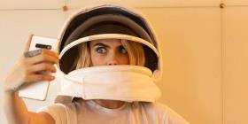Cara Delevingne será la primera persona en enviar un selfie al espacio