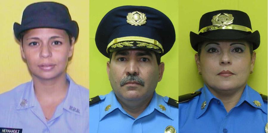 Rosario Hernández de Hoyo, Frank Román Rodríguez y Luz M. Soto (horizontal-x3)