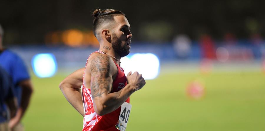 Wesley Vázquez durante su participación en julio en los Juegos Centroamericanos y del Caribe. (GFR Media) (horizontal-x3)