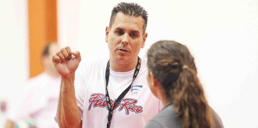 El técnico del conjunto femenino, José Mieles, tendrá a su cargo la preparación para los torneos de 2019. (horizontal-x3)