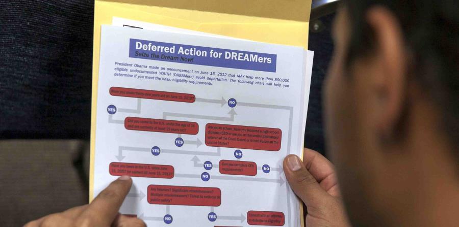 Debido a la decisión de Trump de cancelar el DACA, diversas partes en la nación, entre ellas California, interpusieron demandas para evitarlo. (AP / Damian Dovarganes) (horizontal-x3)
