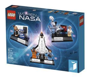 Lego realiza homenaje a las mujeres de la NASA