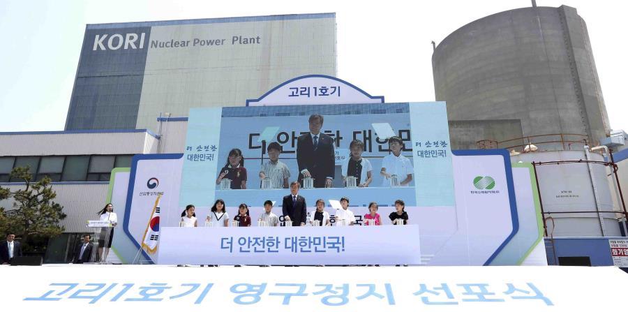 Corea del Sur cancela la construcción de nucleoeléctricas (horizontal-x3)