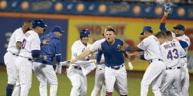 Los Mets siguen candentes y remontan para vencer a los Indians