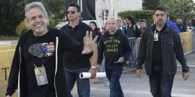 Lin-Manuel Miranda celebra su cumpleaños con los universitarios