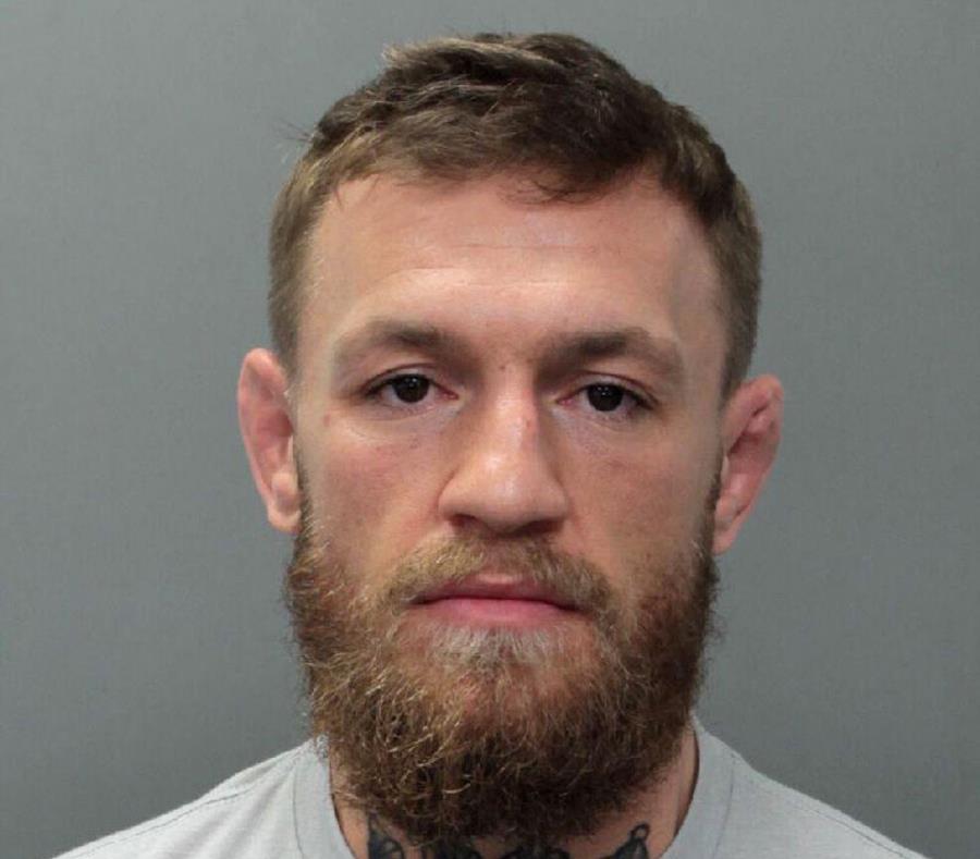 Imagen de Conor McGregor tomada por la Policía. (AP) (semisquare-x3)