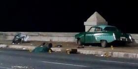 Conductor que causó accidente en el Malecón de La Habana había ingerido alcohol