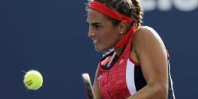 Dominante victoria de Mónica Puig en la primera ronda de Luxemburgo