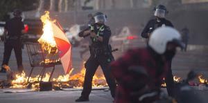 Impactantes imágenes de las protestas por la muerte de George Floyd en Estados Unidos