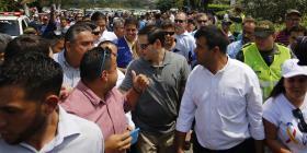 Marco Rubio pide a militares venezolanos que dejen pasar ayuda humanitaria