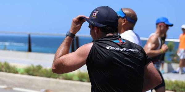Ricardo Rosselló participa del Ironman 70.3