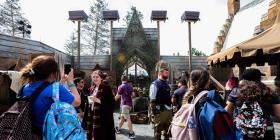 Velocidad y sorpresas en la nueva montaña rusa en Universal Island of Adventure
