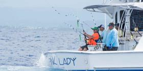 Productivo segundo día del Torneo Internacional de Pesca del Club Náutico de San Juan