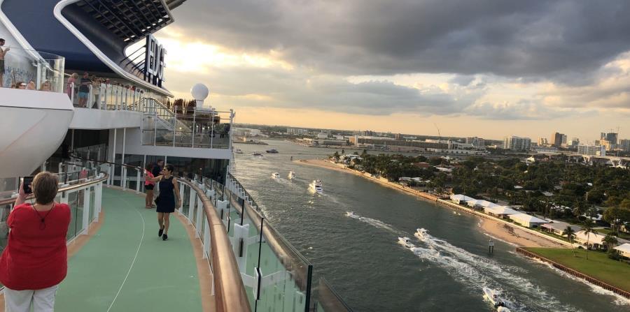 Inaugurado en diciembre de 2018, este barco es toda una obra de arte de proa a popa.  (Gregorio Mayí / Especial para De Viaje)