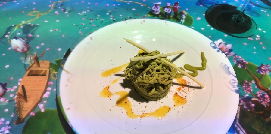 """Visto por primera vez en un crucero, Le Petit Chef At Qsine,  utiliza animación 3D para que los pequeños """"preparen""""  manjares  sobre los platos en la mesa de manera virtual.  (Gregorio Mayí / Especial para GFR Media)"""
