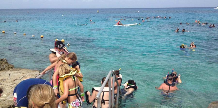 Snórkel en el caribe mexicano  en destinos como Cancún y toda la Riviera Maya, ofrece la oportunidad de apreciar de manera segura y de primera mano, las bellezas del mar. (Gregorio Mayí / GFR Media)