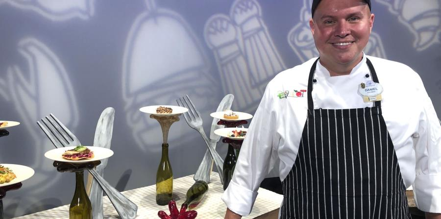 Chef Daniel Contreras. (Gregorio Mayí / Especial para GFR Media)
