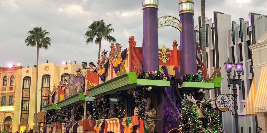 Cada año el desfile tiene un tema distinto, y en este es el Treasures of the Deep, que tendrá seis carrozas nuevas inspiradas en las criaturas místicas de las profundidades del mar y de la ciudad hundida del Atlantis. (Gregorio Mayí / Especial para GFR Me