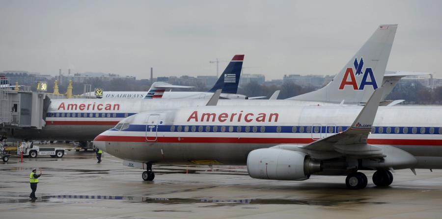 American Airlines es la aerolínea más grande del mundo. (Agencia EFE) (horizontal-x3)