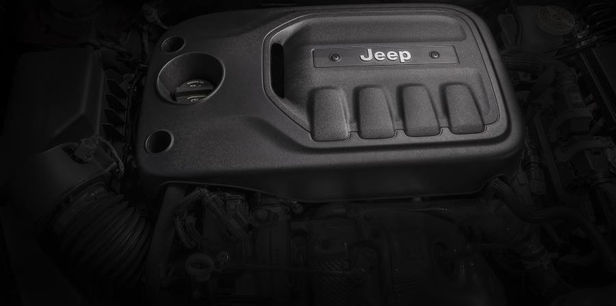 Motor turbo de cuatro cilindros y 2.0 litros.
