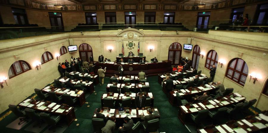 Vista en una sesión de la Cámara de Representantes. (GFR Media) (horizontal-x3)