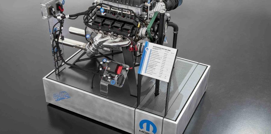 """El motor """"Hellephant"""" produce 1,000 caballos de fuerza."""