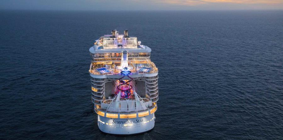 Una mirada al interior del crucero más grande del mundo