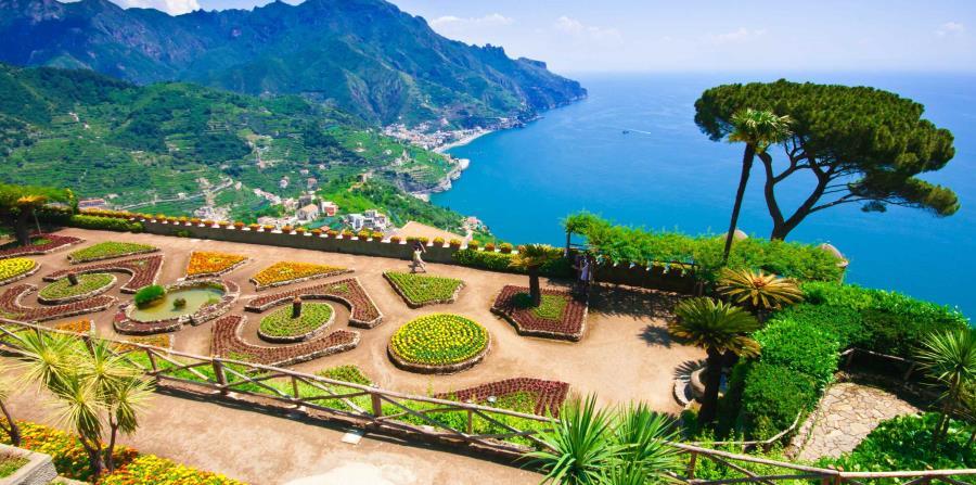 Villa Rufolo, sobre un risco en el pueblo de Ravello, muy cerca de Amalfi, es otra visita obligada. Allí puedes ver los hermosos jardines suspendidos sobre el mar,  que inspiraron al compositor alemán Richard Wagner para su ópera Parsifal.  (Suministrada)