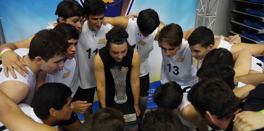 El equipo del colegio San Ignacio.