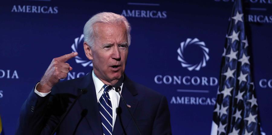 El paquete dirigido a Joe Biden tenía la dirección incorrecta.  (EFE) (horizontal-x3)