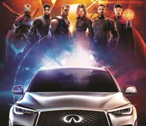 Infiniti dice presente en ''Avengers: Infinity War''