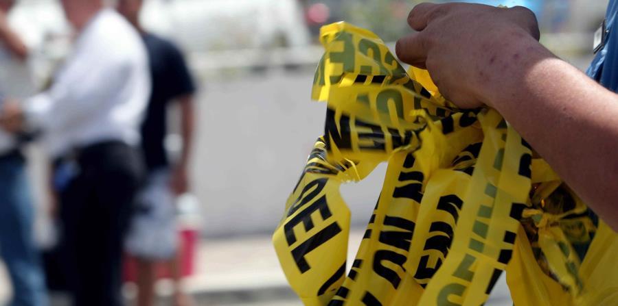 El hombre, veterano, fue identificado en la escena por familiares. (horizontal-x3)
