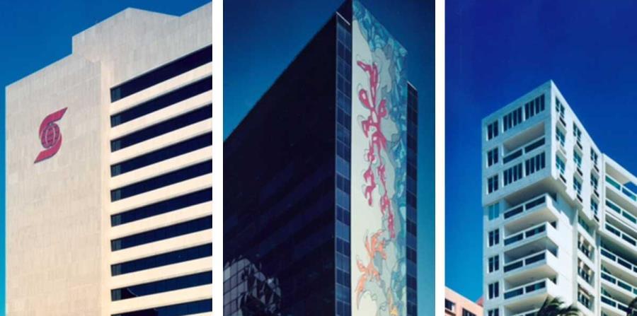 Scotiabank Office Building, Playa Serena en Isla Verde y los murales del edificio El Caribe forman parte de su legado. (Suministradas) (horizontal-x3)