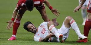 El partido entre España e Irán estuvo...