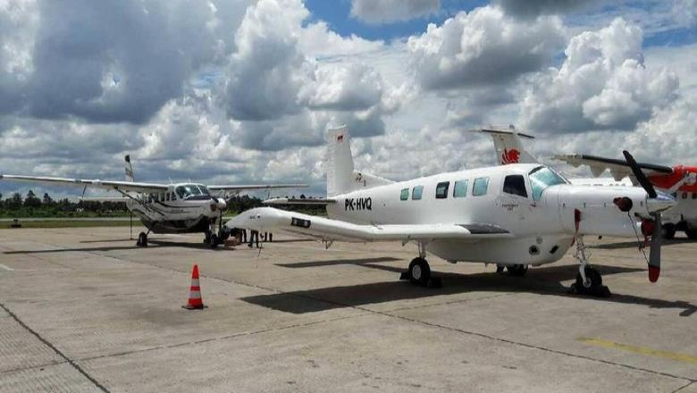 La aeronave unimotor era operada por Dimonin Air
