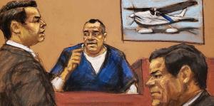 Lo que las cámaras no pudieron captar en el juicio de El Chapo