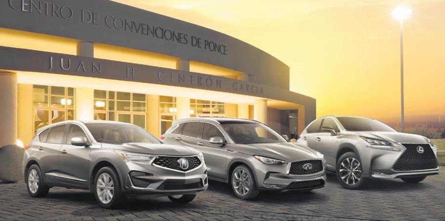 Durante el evento, los clientes podrán hacer su prueba de manejo en cualquiera de los modelos Acura, Infiniti y Lexus. (horizontal-x3)