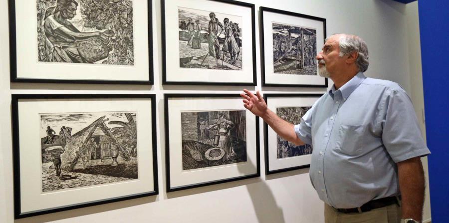 El Dr. Richard Kurin, embajador general del  Instituto Smithsonian recorrió la isla visitando museos. (horizontal-x3)