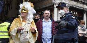 Italia cancela el Carnaval de Venecia por el coronavirus