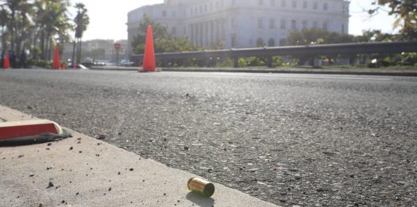 Registran disparos frente al Capitolio