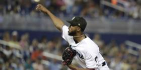 Sandy Alcántara lanza joya en blanqueada de los Marlins sobre los Mets