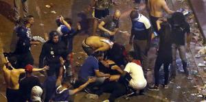 Detienen a casi 300 personas por incidentes en la celebración del Mundial