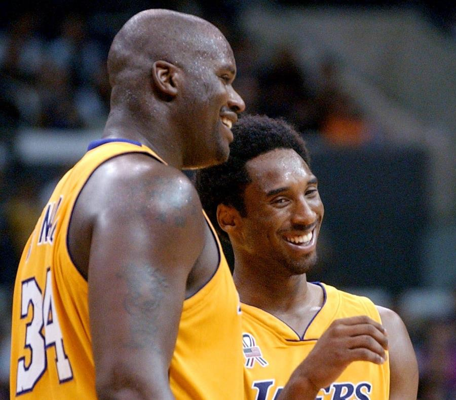 Shaquille O'Neal y Kobe Bryant no dan tregua a la rivalidad