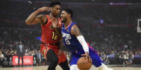 Los Clippers aplastan a los Hawks